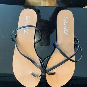 Splendid minimal strap flat sandal